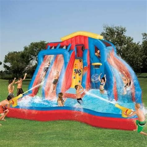 banzai bounce house 1000 ideas about inflatable water slides on pinterest