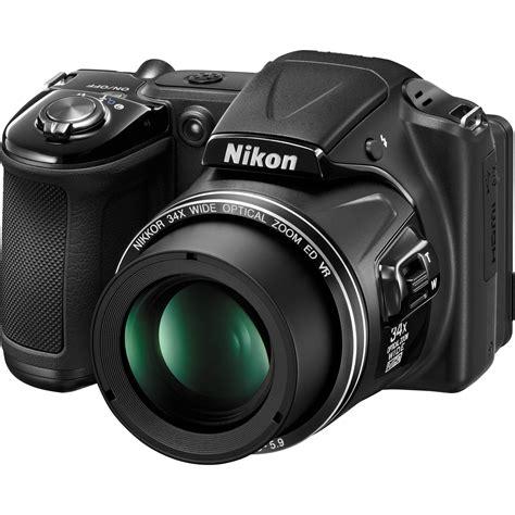 nikon coolpix l830 digital black 26439 b h photo
