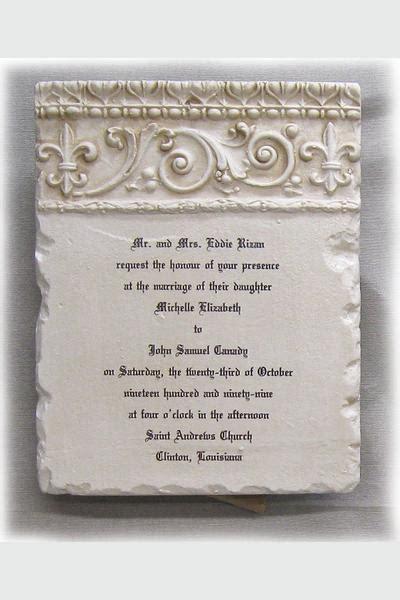 wedding invitation keepsake plaque custom wedding invitation plaque scrolls