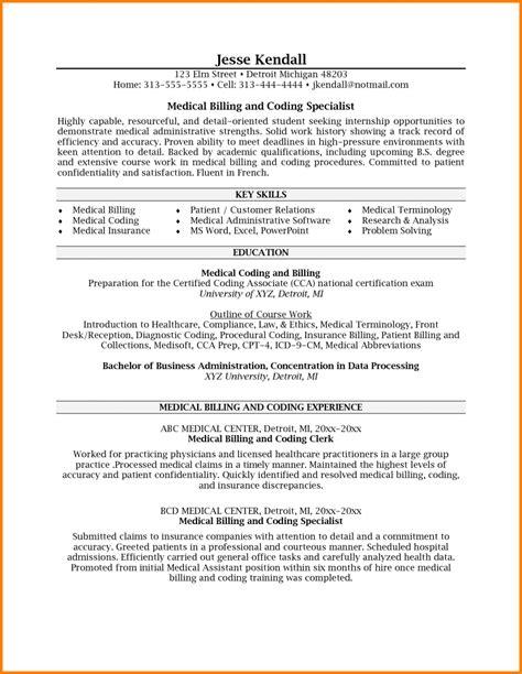 7  billing specialist job description resume   Simple Bill