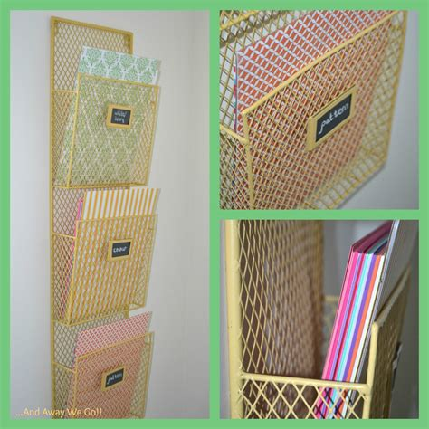 Paper Craft Supplies - and away we go organizing craft supplies card stock