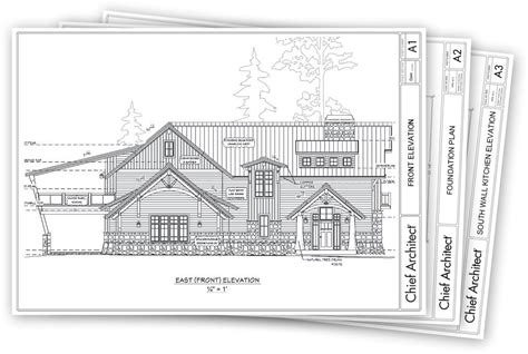 draw exterior house plans free