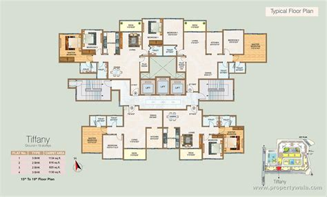 layout of polaris mall sheth vasant oasis andheri east mumbai apartment