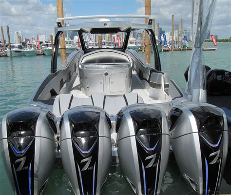 miami vice boat engines the best of the international miami boat show