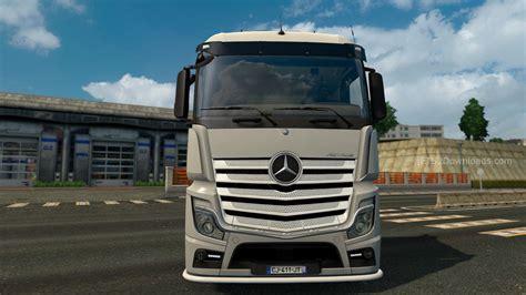 mercedes truck 2014 lowerd mercedes actros 2014 truck simulator 2 spot