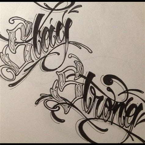 tattoo lettering sketch stay strong lettering for a feet tattoo mdf kta