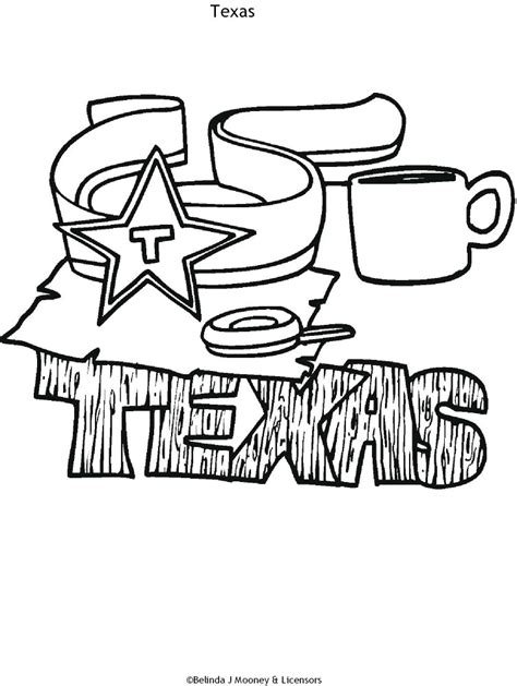 texas coloring pages for kids az coloring pages