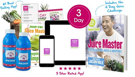Juice Master 3 Day Detox Menu by