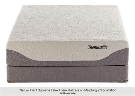 Thomasville Mattress Reviews by Thomasville 174 Supreme 941 Dunlop Mattress