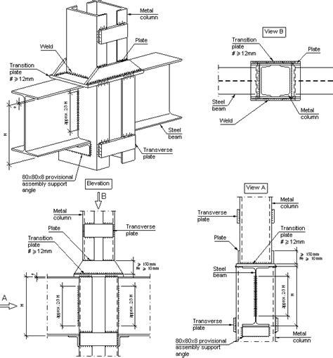 diferencia entre cadenas y pilares construction details cype eag819 simple beam column 2