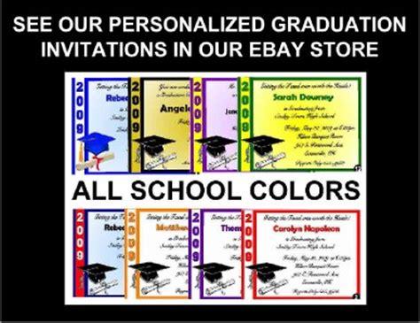 graduation words of wisdom card templates 20 personalized graduation advice words of wisdom cards ebay