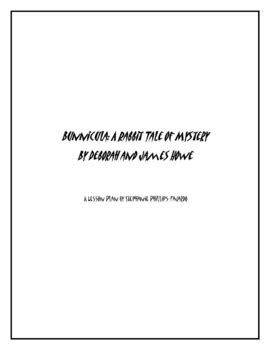 Bunnicula: A Rabbit Tale of Mystery Worksheets by