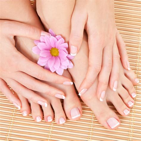 easy method to do manicure and pedicure at home