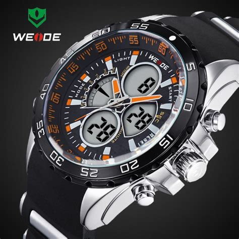 Weide Japan Quartz Miyota Sports 30m Wr Wh6 T0210 1 montre wr30m