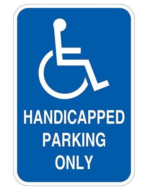 Handicapped Parking Only   Barco Products