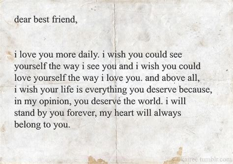 up letter to best friend dear best friend quotes quotes dr who