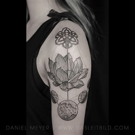 moon lotus tattoo best tattoo ideas gallery