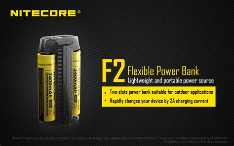 Nitecore Charger Baterai With Power Bank F2 new product announcement nitecore f2 dual slot power bank charger