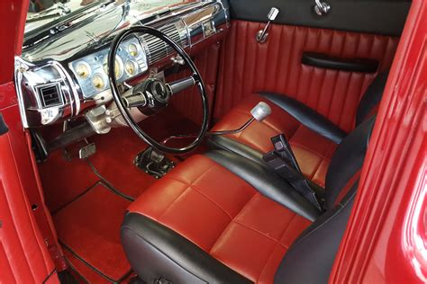 1940 Ford Interior by 1940 Ford Custom Coupe 201044