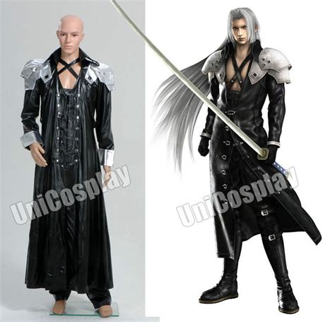 Jaket Anime Sword related keywords suggestions for sephiroth costume