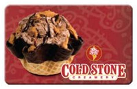 check balance on a cold stone creamery gift card cash in your gift cards - Cold Stone Gift Card Balance