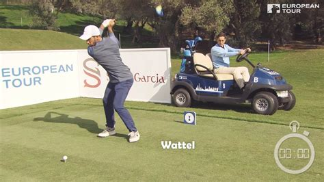 fastest golf swing speed ever recorded watch european tour foursomes attempt to break the world