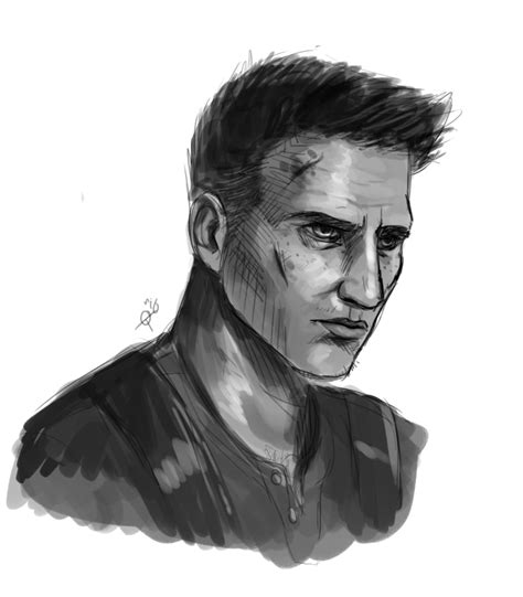 Uncharted 4 Sketches by Nathan Uncharted 4 By Guandoya On Deviantart