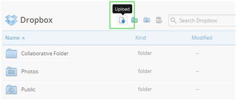 dropbox web login come aggiungere file a dropbox tutorial risorse e