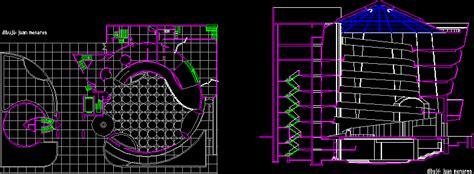 guggenheim  york dwg block  autocad designs cad
