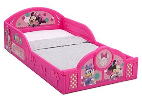 delta minnie mouse toddler bed delta children deluxe disney minnie mouse toddler bed with