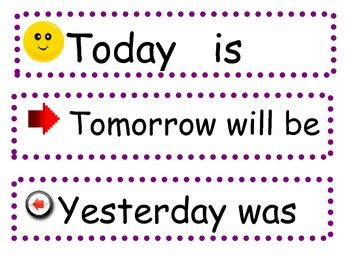 today is what day in week let not the regrets of yesterday or the fear of tomorrow