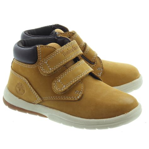 boots toddler timberland toddler tracks velcro boot in wheat in wheat