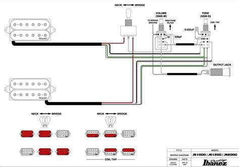 ibanez hsh wiring diagram 25 wiring diagram images