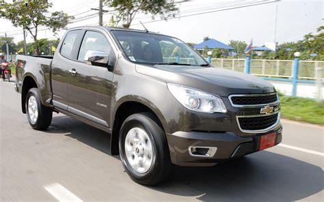 2012 Chevrolet Colorado by 2012 Global Market Chevrolet Colorado Rear Three Quarters