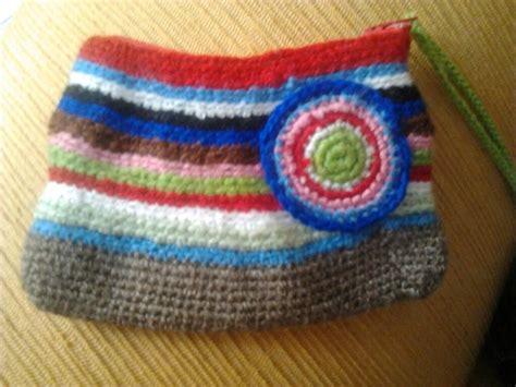 Bag Pin By Bonita by Otra Bolsita A Rayas Muy Bonita Bolsos De Crochet