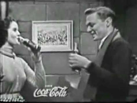 vintage tv commercials from the 1940s 50s 7 ads coca cola christmas 1950s classic tv commercial youtube