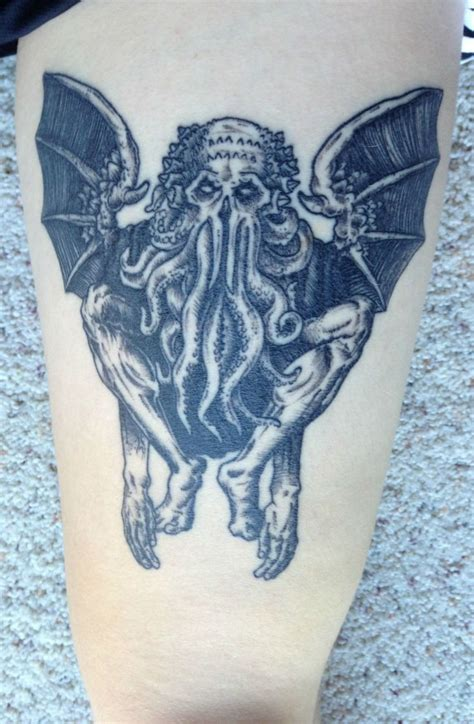 fat rams tattoo 100 best cthulhu images on