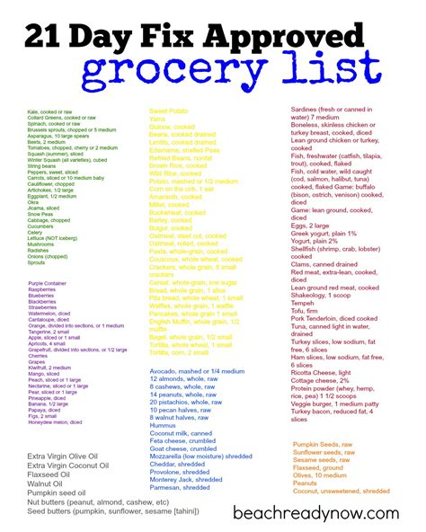 21 Day Sugar Detox Grocery List by 1000 Images About 21 Day Fix On 21 Day Fix