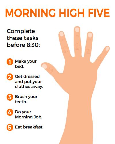 Kids Train Bed The Morning High Five A Simple Morning Routine To Get