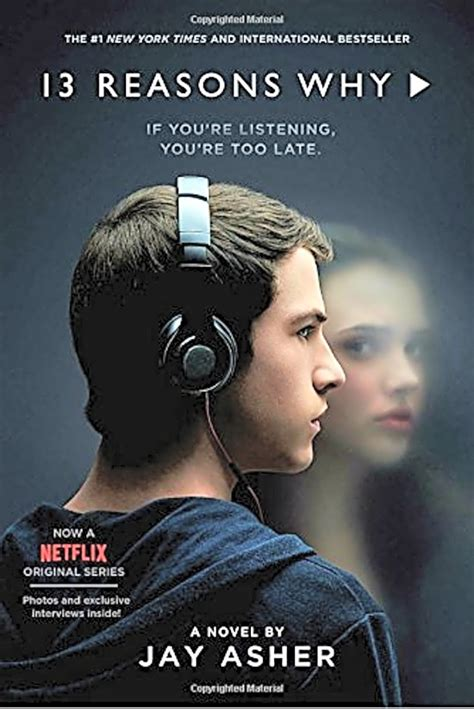 13 Thirteen Reasons Why Asher Netflix Cover 13 reasons why paperback drama book 2017 popular blockbuster new edition ebay