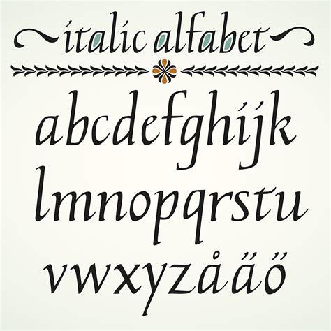 alfabeto italiano in corsivo maiuscolo e minuscolo con lettere straniere alfabeto italiano in corsivo maiuscolo e minuscolo