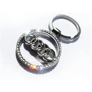 Audi Keychains Bling Audi Keychain With Crystals Audi Sleutelhanger Bling