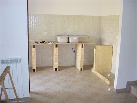 struttura cucina in muratura cucina in finta muratura