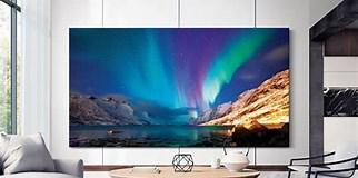 Image result for Biggest Flat screen TV 2020. Size: 322 x 160. Source: www.techradar.com