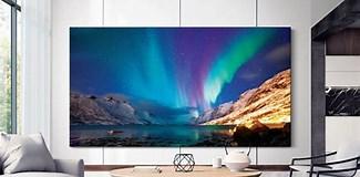 Image result for Biggest Flat screen TV 2020. Size: 325 x 160. Source: www.techradar.com