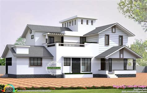 gorgeous new house model kerala home design at 3075 sqft modern kerala style house plans with photos beautiful