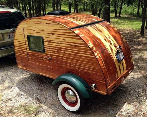 retro teardrop cer for sale laminated cedar teardrop trailer modeled after vintage ones