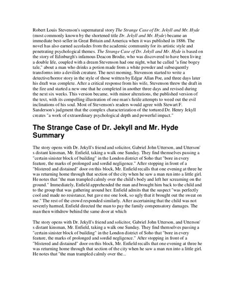 Dr Jekyll And Mr Hyde Essays by College Essays College Application Essays Dr Jekyll And Mr Hyde Essay