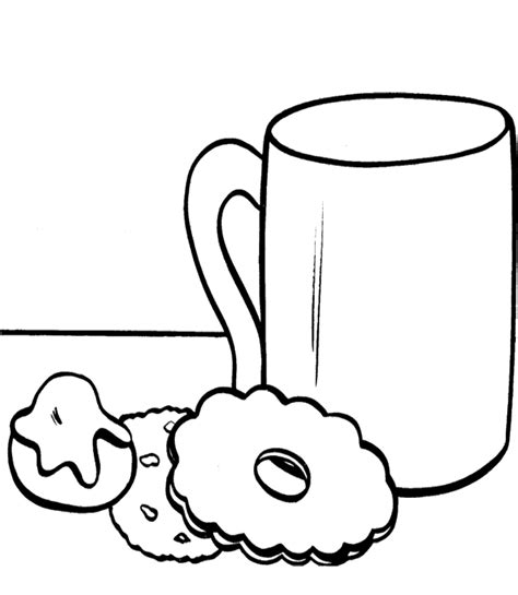 hot chocolate coloring page coloring home
