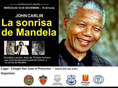 libro la sonrisa de mandela john carlin la sonrisa de mandela saint mary of the hills